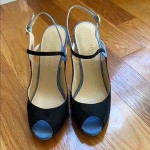 Ivanka trump peep toe heels